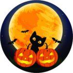 NoCutoutCat_and_pumpkins