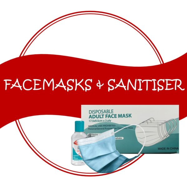 Face Masks, Hand Sanitisers and Misc